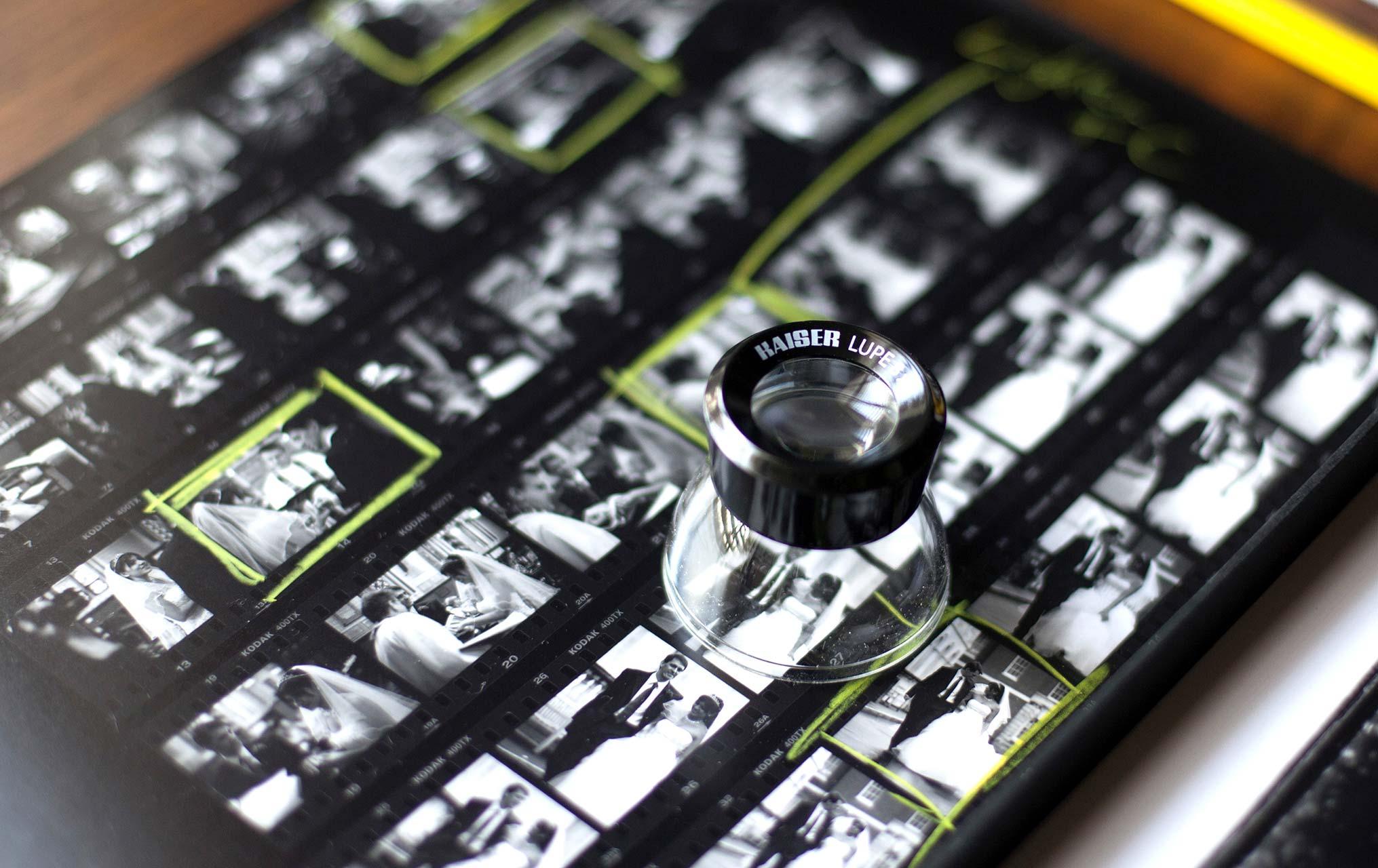Richard Payne Memory Archive Box Lupe lens